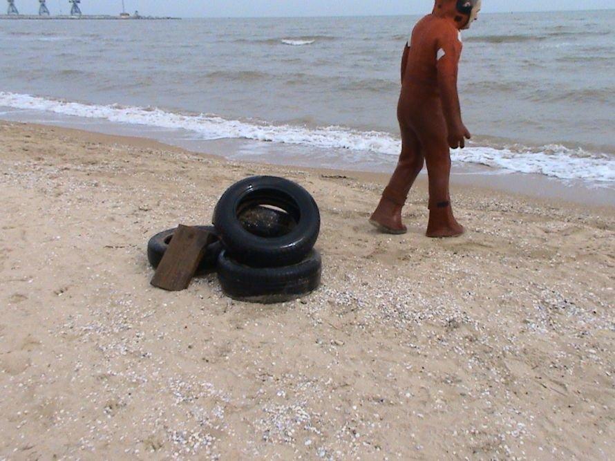 Мариупольские спасатели очищают дно морское (ФОТО), фото-2
