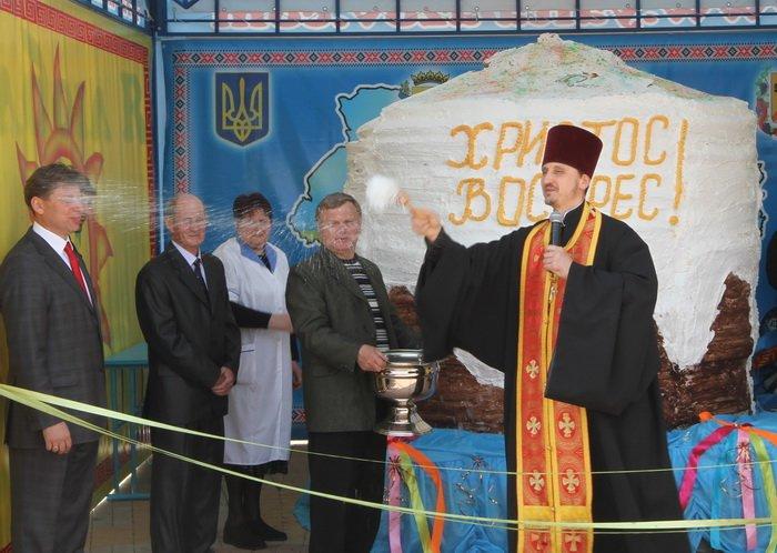 Как в Донецкой области испекли самый большой в Украине пасхальный кулич (фотохроника прошлых лет), фото-1