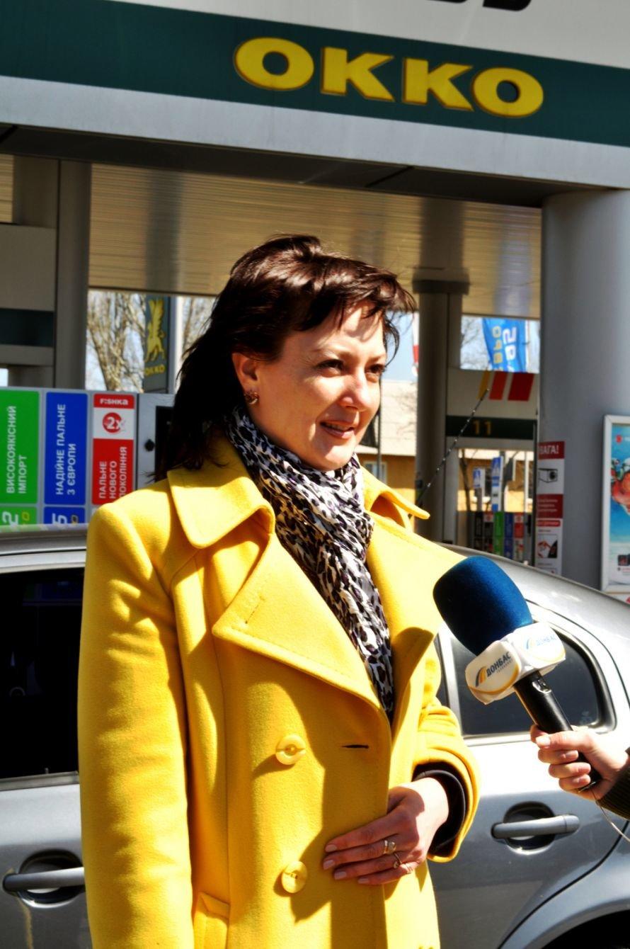 Жительница Макеевки выиграла 1000 литров высококачественного топлива от АЗС-сети «ОККО», фото-1