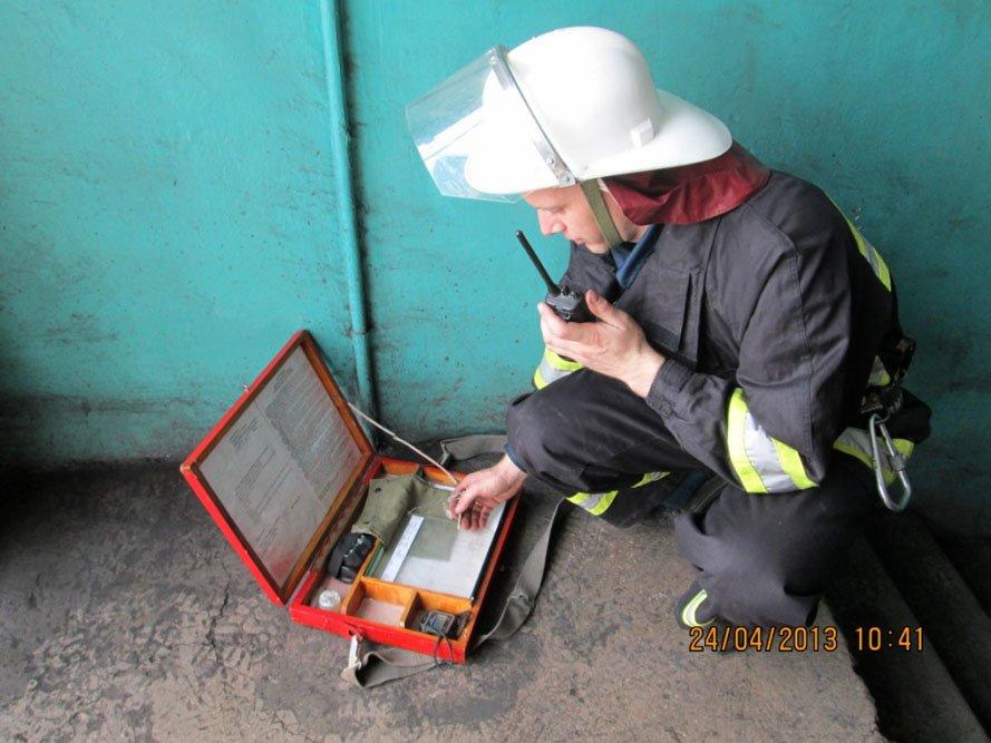 ФОТОРЕПОРТАЖ: На Запорожской ТЭС спасатели провели учения, фото-2