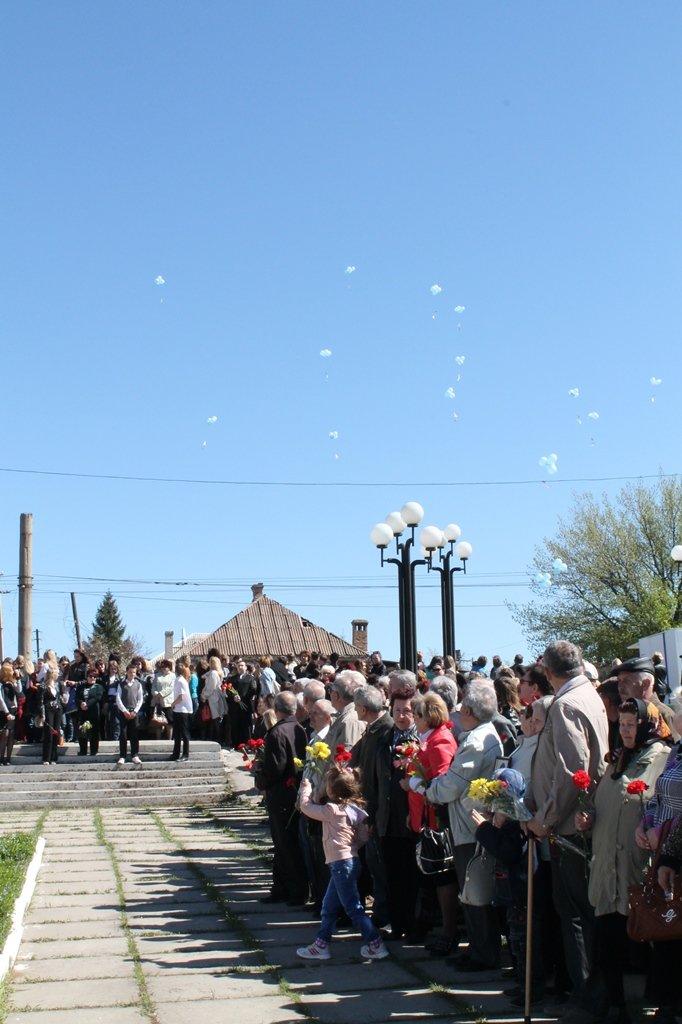 Артемовские чернобыльцы кричали «Ганьба!»  Партии Регионов, фото-12