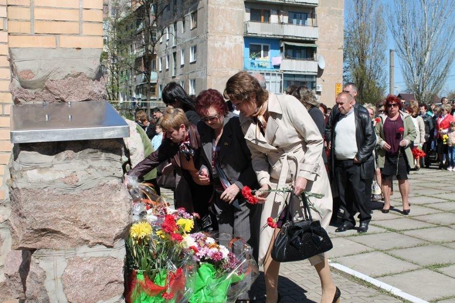 Артемовские чернобыльцы кричали «Ганьба!»  Партии Регионов, фото-16