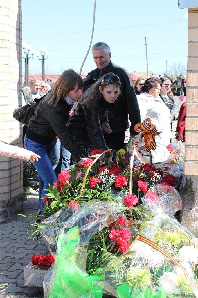 Артемовские чернобыльцы кричали «Ганьба!»  Партии Регионов, фото-17