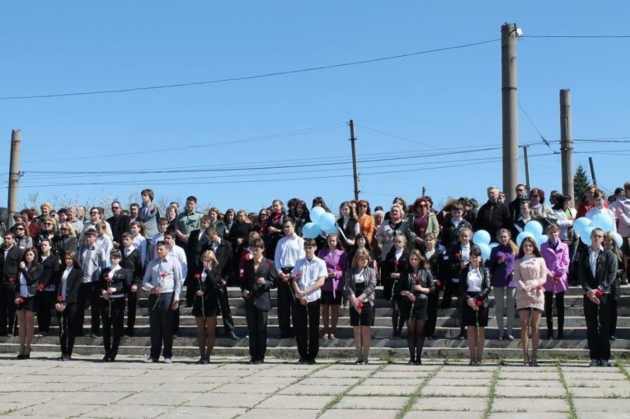 Артемовские чернобыльцы кричали «Ганьба!»  Партии Регионов, фото-7