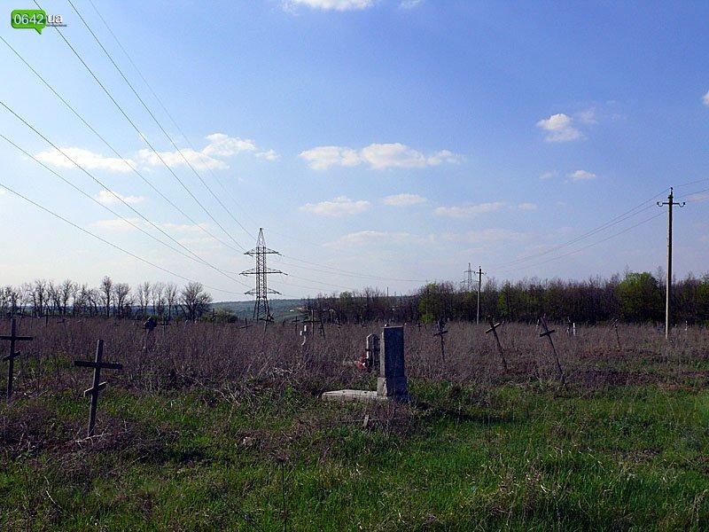 Другие мертвые. Луганское кладбище зеков в предпасхальные дни пустынно (ФОТО), фото-1