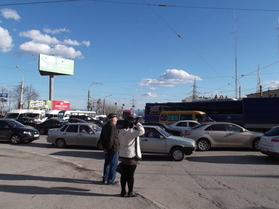 Репетиции  войск ко Дню Победы стали причиной дорожного затора?, фото-1