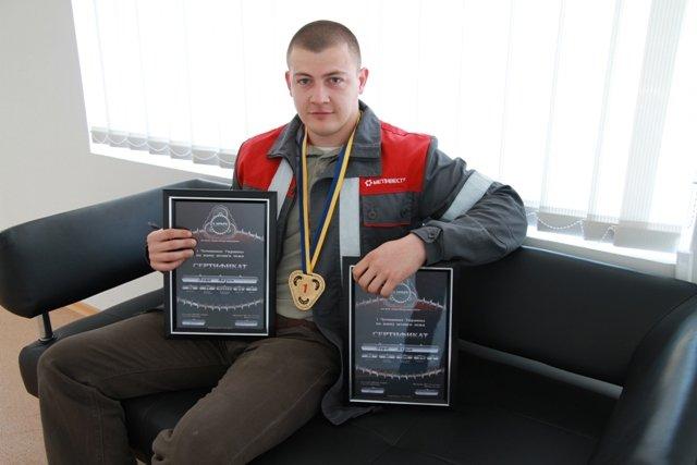 Вадим Вовк, чемпион Украины по жиму штанги лежа