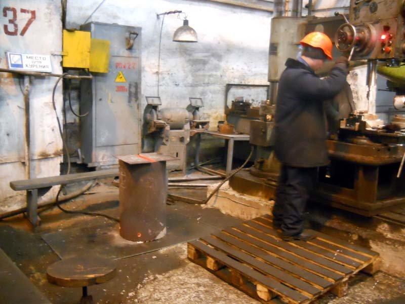 лугансктепловоз - холод в цеху