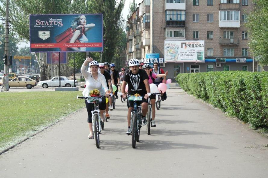 Велосвадьба в Кривом Роге: «Раньше я боялась велосипедов, как огня» (ФОТОРЕПОРТАЖ) (фото) - фото 1