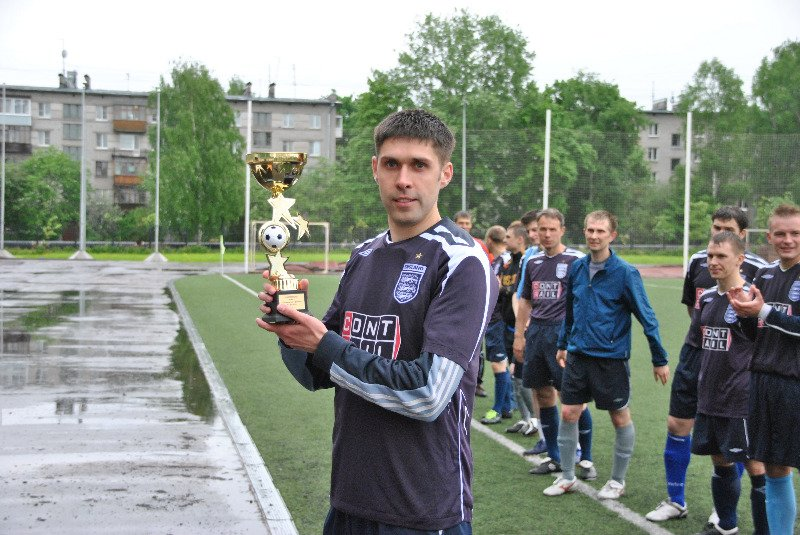 Капитан команды денис Горожанкин