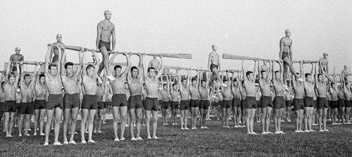 1966 День флота  фото Вадима Докина45х20