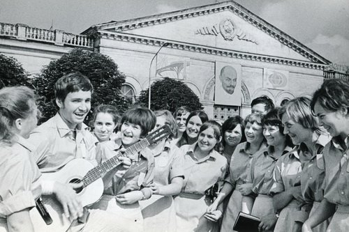 70 годы Стройотряд фото Бориса Шейнина