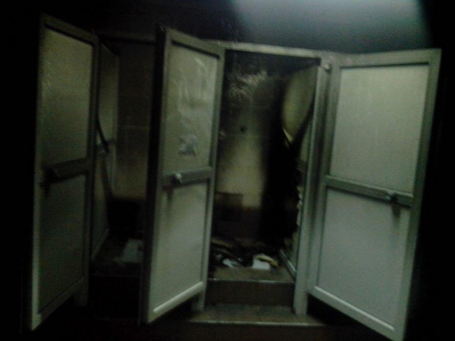 Сегодня ночью произошел пожар в общежитии ХНУРЭ (Фото) (фото) - фото 1