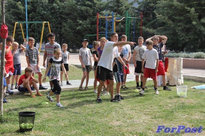 Праздничная эстафета юных спортсменов
