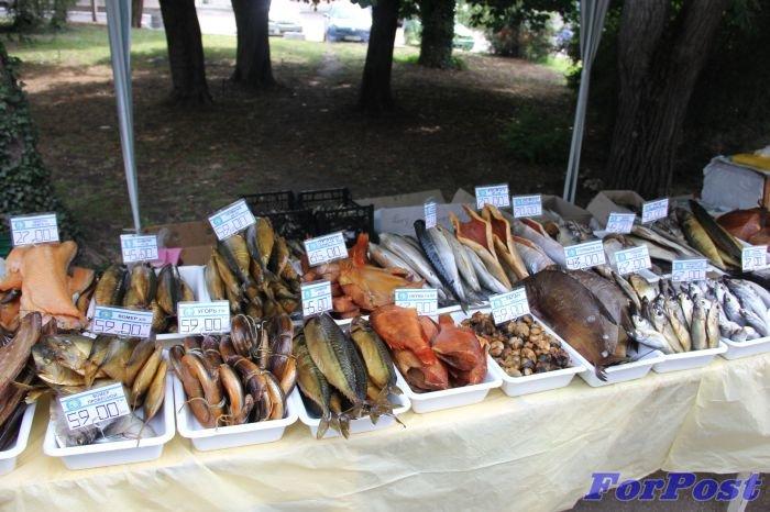 Рыба не балаклавская, но продаеися в Балаклаве