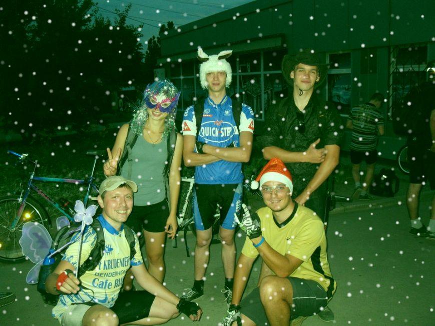 Велосипедисты Кривого Рога устроили себе «Сказочную ночь» (ФОТОРЕПОРТАЖ), фото-1