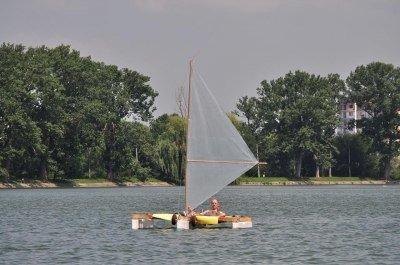 саморобна яхта
