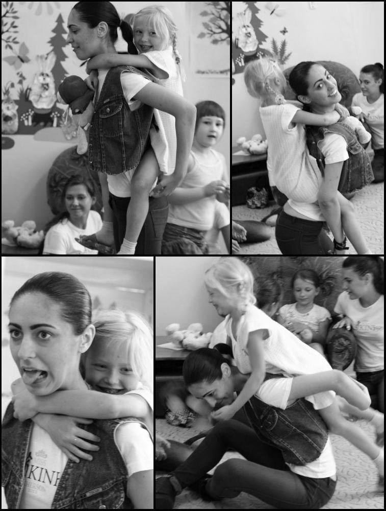 Участницы «Мисс Бикини Херсон 2013» посетили Поликлинику им. Лучанского (фото) - фото 3