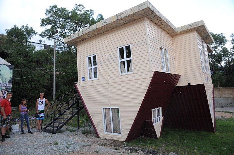 дом вверх ногами 2 ялта