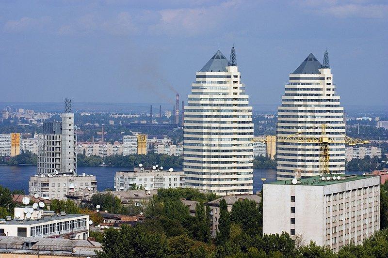 башни близнецы Днепр