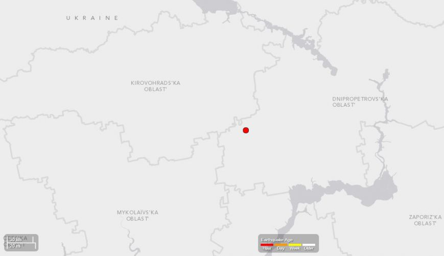 Эпицентр землетрясения на Днепропетровщине - село Лозоватка Криворожского района (ФОТО), фото-1