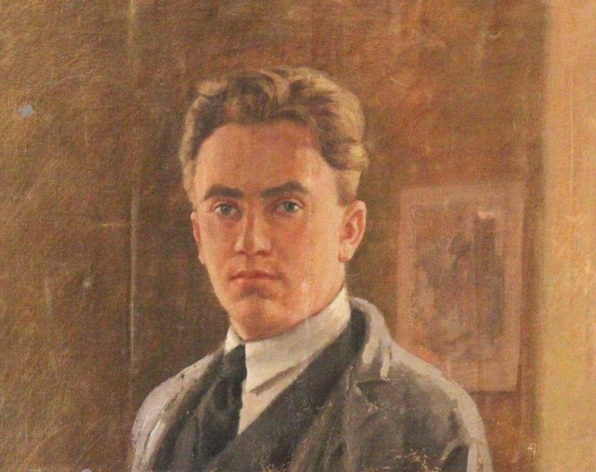 А. Быстряков _Автопортрет-30-е гг