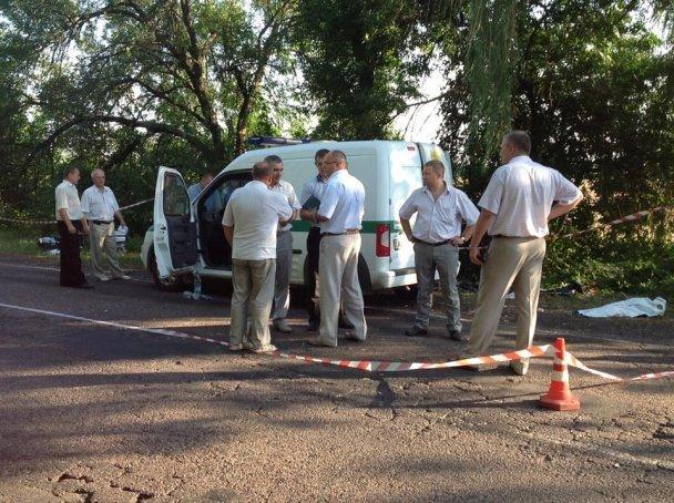 Здесь инкассатор Олег Калюжный расстрелял двух своих коллег