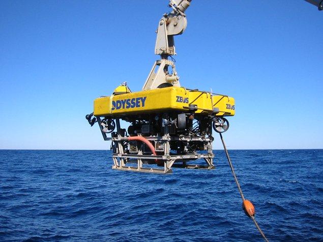 Глубоководный робот, который нырял за слитками