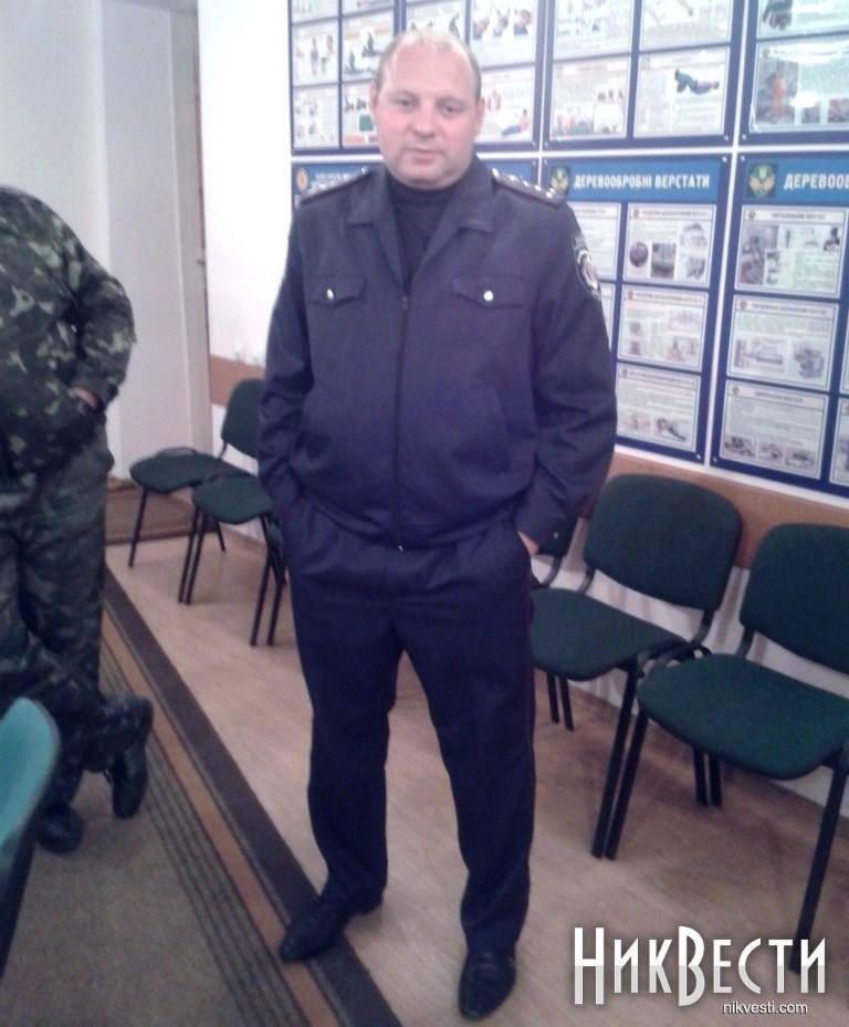 Капитан Евгений Дрыжак