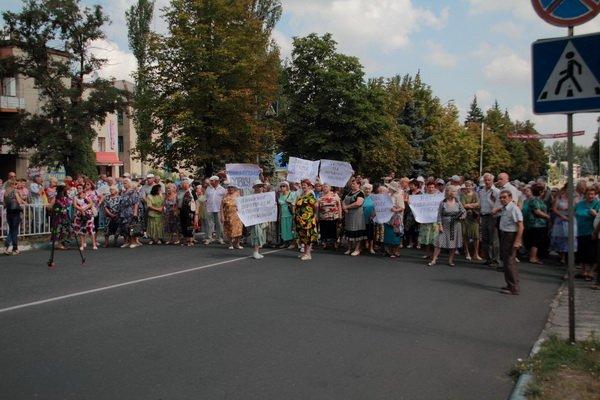 Дружковка. Улица Ленина. 31 июля 2013 года.