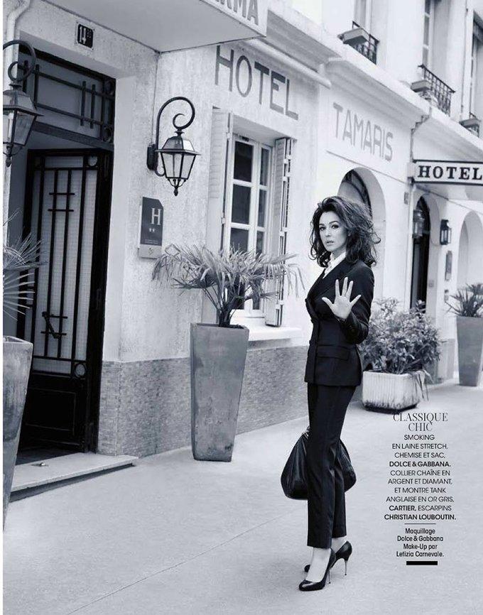 Моника Беллуччи – Madame Figaro (фото) - фото 2