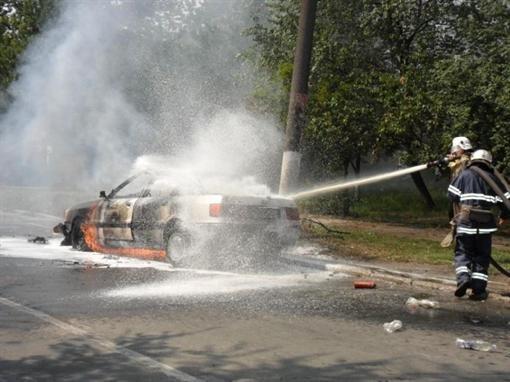 сгорел авто1