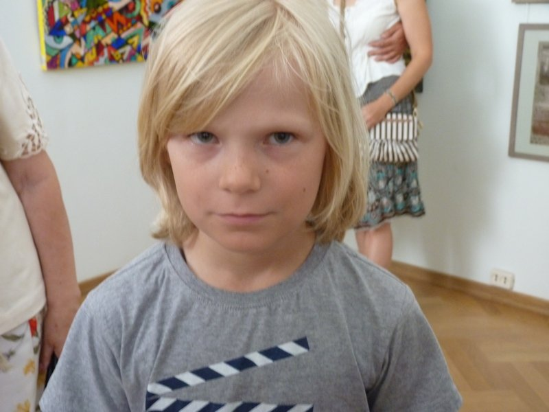 мальчик из Москвы