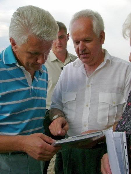 Владислав Смирнов и лидер Народной партии  Владимир Литвин