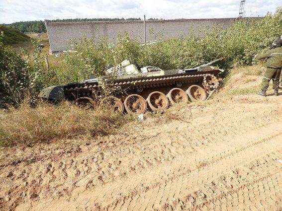 танк упал 4