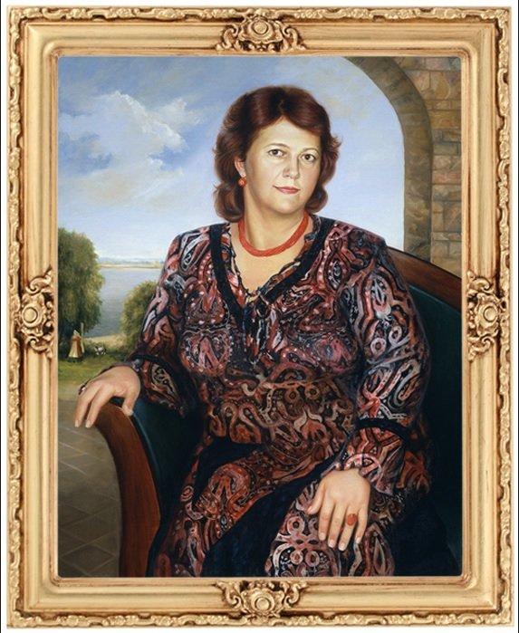 Нікас Сафронов пише портрет черкаського губернатора Тулуба (фото) - фото 1