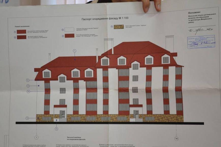 Проект збудованого будинку