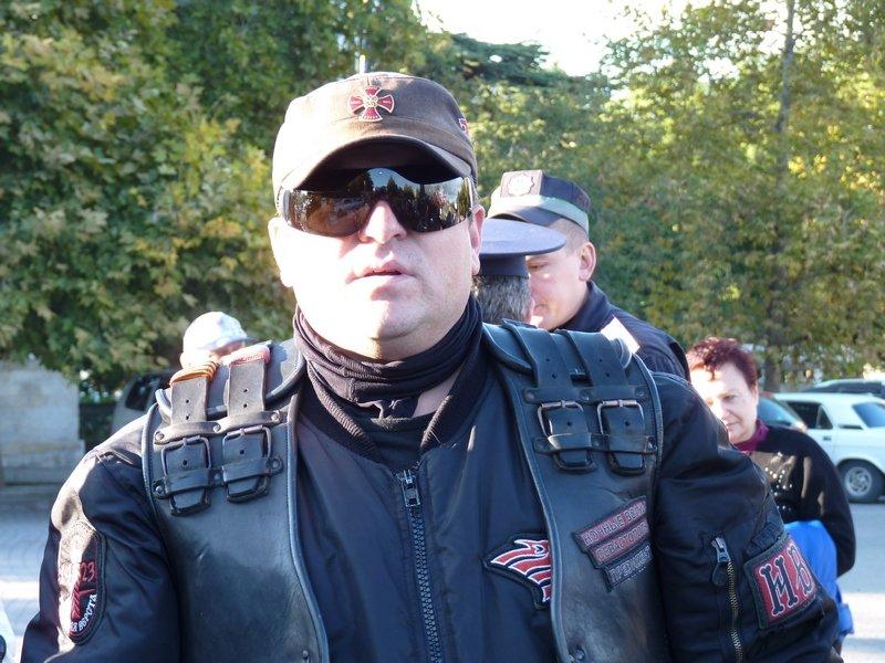 байкер Дмитрий