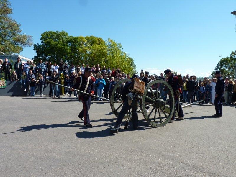 Артиллерию французской армии