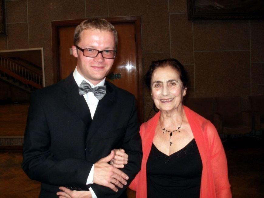 М Гамбарян и С.Воронов пред концертом