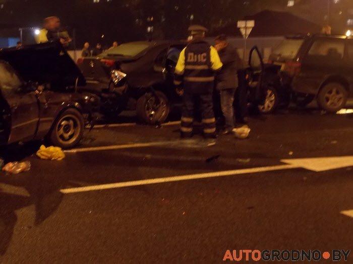 авария 14 октября гродно 2