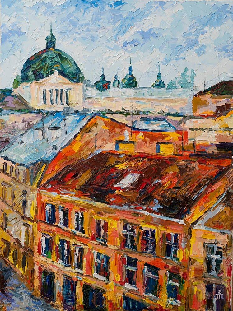 Выставка живописи Русаковой Татьяны ,,Наедине,,13082
