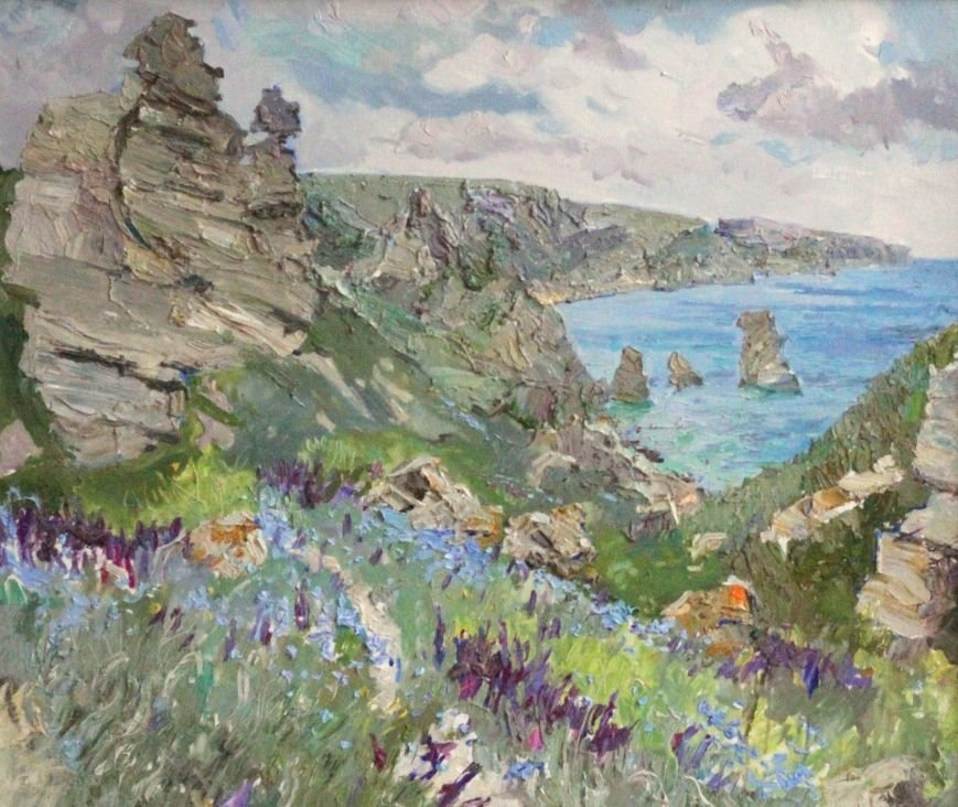 Б.Еремин, Тарханкутская весна