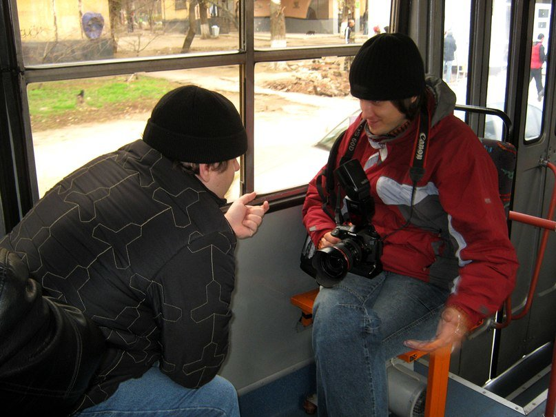 обсуждение ракурсов для фоторепортажа