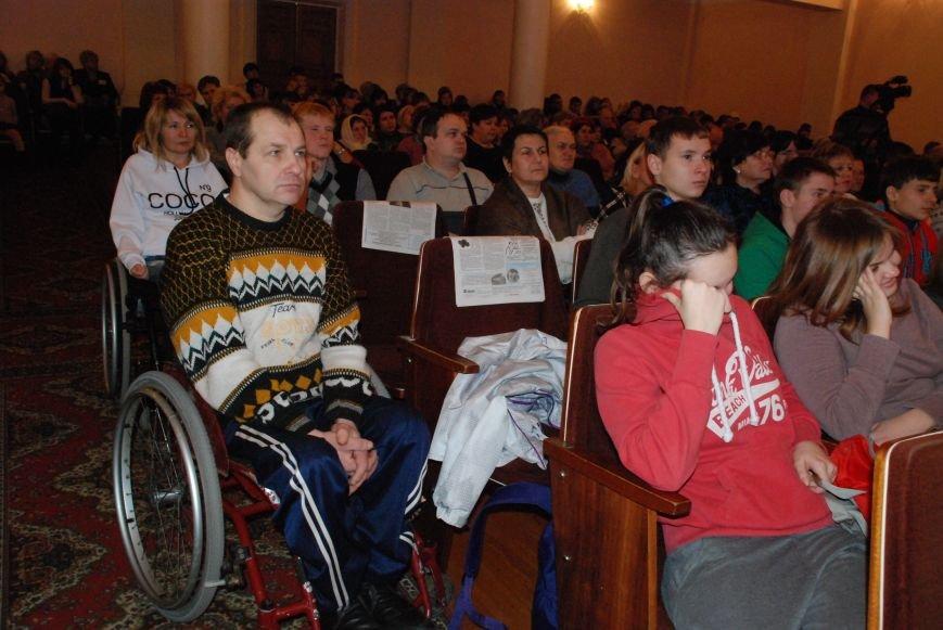 Праздничный концерт к Международному дню инвалидов в Чернигове, фото-5