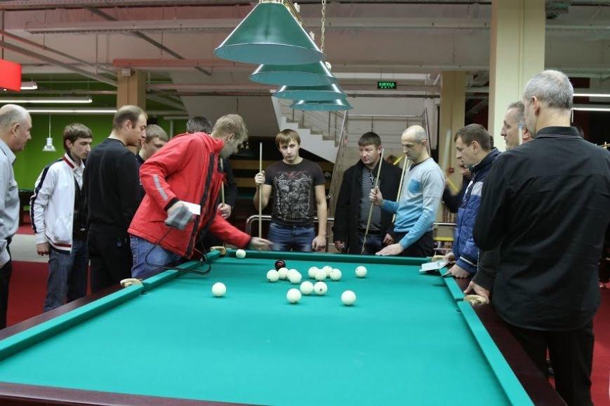 В Черкассах 30 ноября прошел турнир по бильярду «Комбинированная пирамида», фото-1