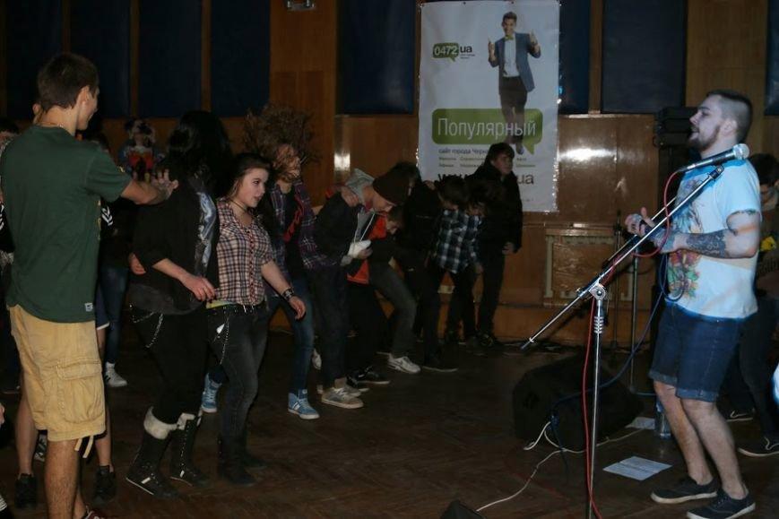 Концерт рок-групп в черкасском клубе РокФорт, фото-2