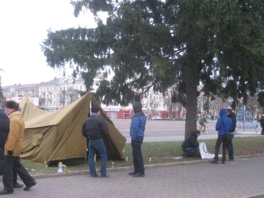 Организаторы Евромайдана в Чернигове нашли способ обойти запрет суда (ФОТО), фото-2