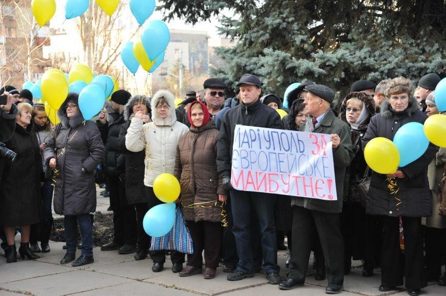 Мариупольцы митинговали под горсоветом (ФОТО), фото-3