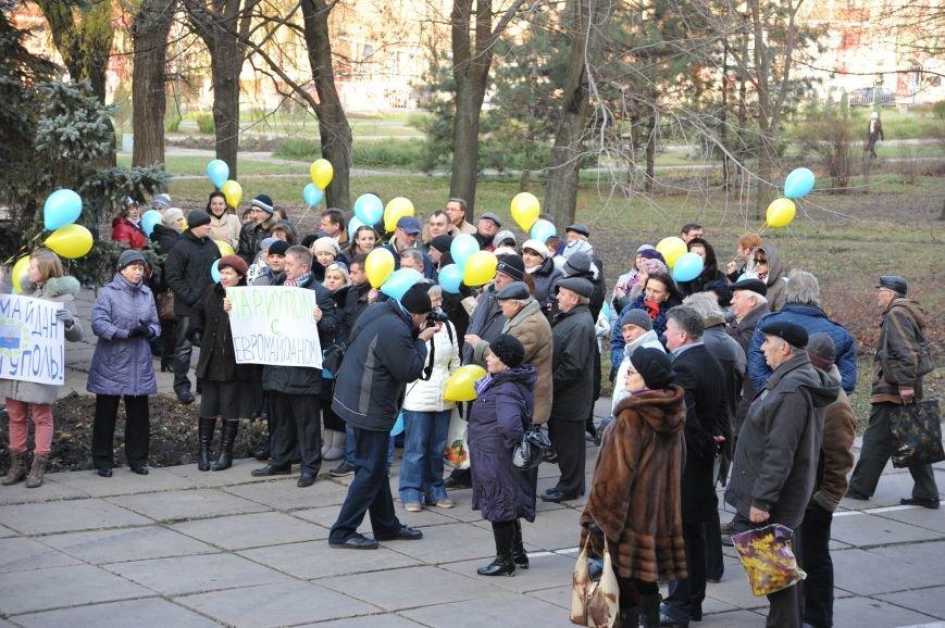 Мариупольцы митинговали под горсоветом (ФОТО), фото-4